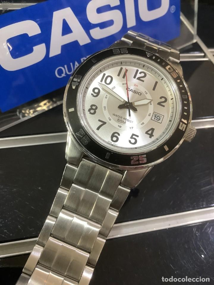 Relojes - Casio: RELOJ CASIO MTP 1298 ¡¡ DIVER WHITE !! VINTAGE (VER FOTOS) - Foto 2 - 249576695