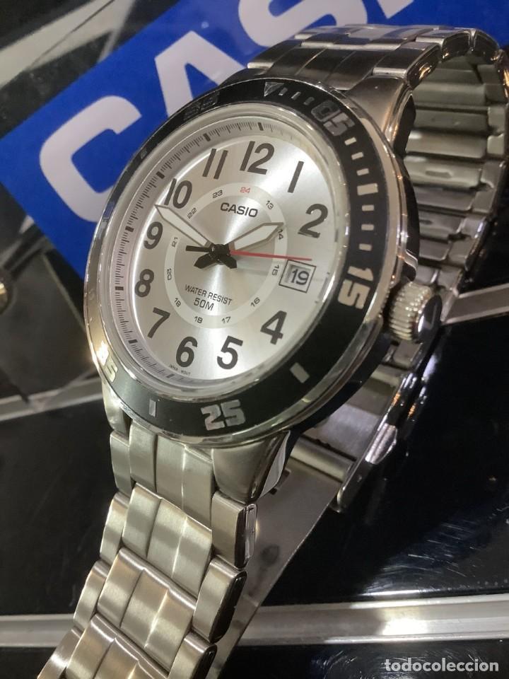 Relojes - Casio: RELOJ CASIO MTP 1298 ¡¡ DIVER WHITE !! VINTAGE (VER FOTOS) - Foto 3 - 249576695