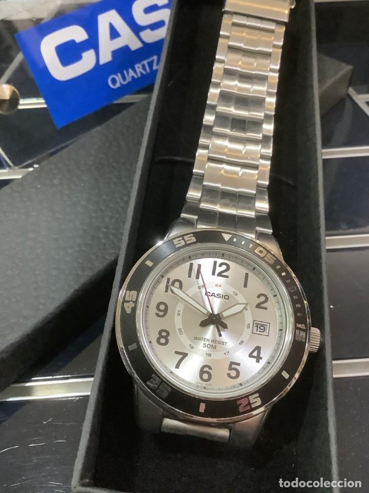 Relojes - Casio: RELOJ CASIO MTP 1298 ¡¡ DIVER WHITE !! VINTAGE (VER FOTOS) - Foto 4 - 249576695