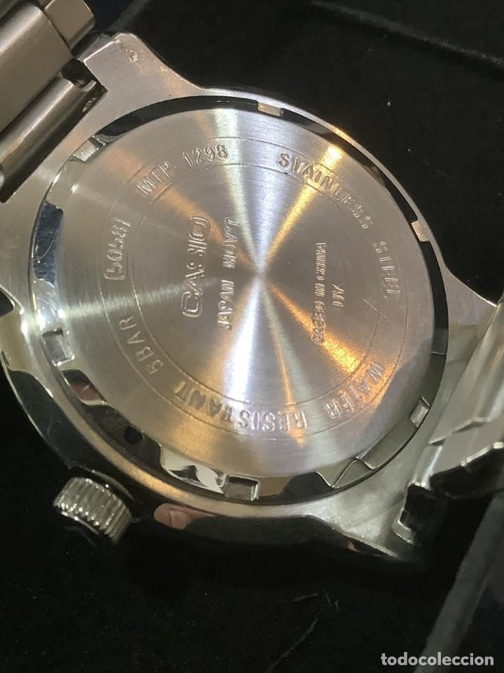 Relojes - Casio: RELOJ CASIO MTP 1298 ¡¡ DIVER WHITE !! VINTAGE (VER FOTOS) - Foto 5 - 249576695