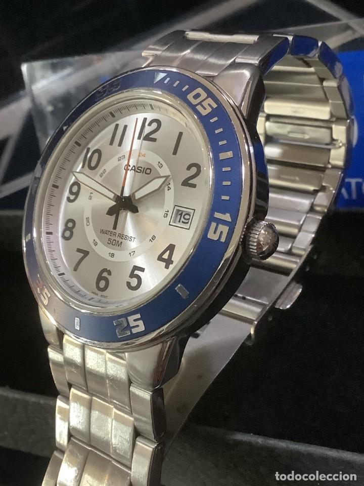 RELOJ CASIO MTP 1298 ¡¡ DIVER BLUE !! VINTAGE (VER FOTOS) (Relojes - Relojes Actuales - Casio)