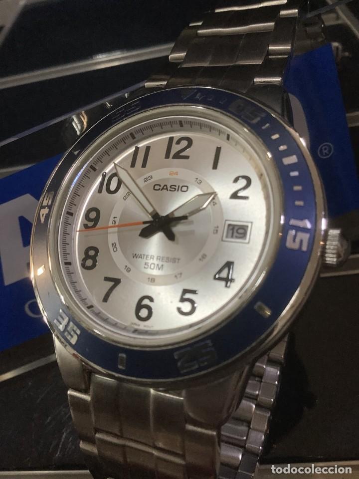Relojes - Casio: RELOJ CASIO MTP 1298 ¡¡ DIVER BLUE !! VINTAGE (VER FOTOS) - Foto 4 - 249577045