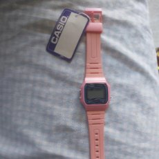 Relojes - Casio: RELOJ CASIO F 91 W COLOR ROSA. Lote 250347285