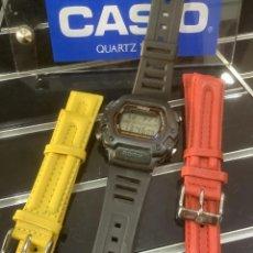 Relojes - Casio: RELOJ CASIO DW 290 + ¡¡ 2 CORREAS DE REGALO !! (VER FOTOS). Lote 252028470