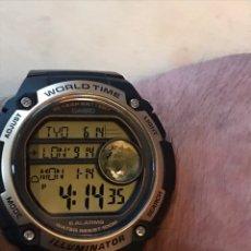 Relojes - Casio: RELOJ CASIO WORLD TIME CABALLEROS SIN USAR. Lote 253011035