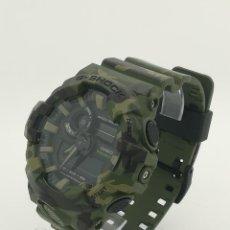 Relojes - Casio: RELOJ ANALÓGICO DIGITAL CASIO G-SHOCK 200M GA-700CM 5522 CAMUFLAJE DE CUARZO. Lote 253713730