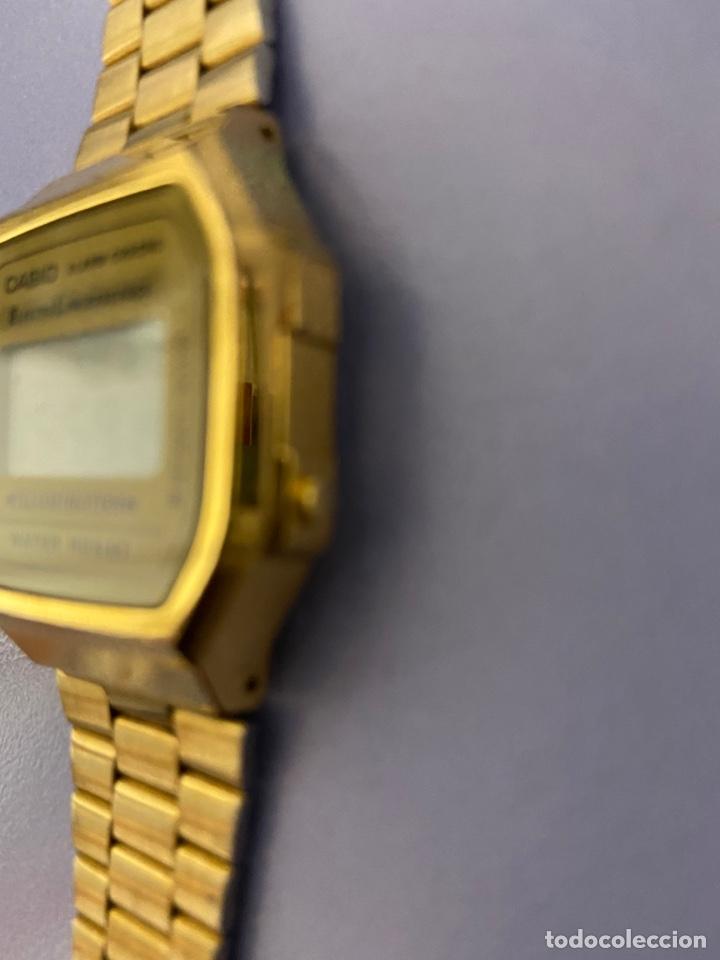 Relojes - Casio: Reloj de pulsera Casio, color dorado. Funcionando - Foto 5 - 254214115