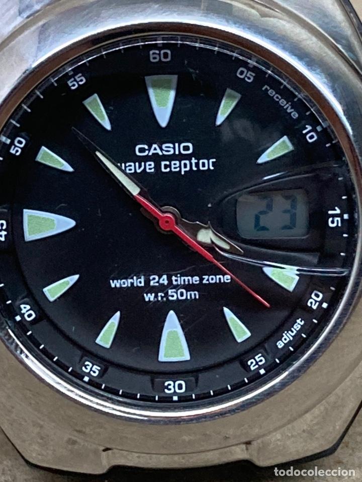 Relojes - Casio: Reloj Casio Wave ceptor WVQ-201 modelo vintage - Foto 2 - 254480120