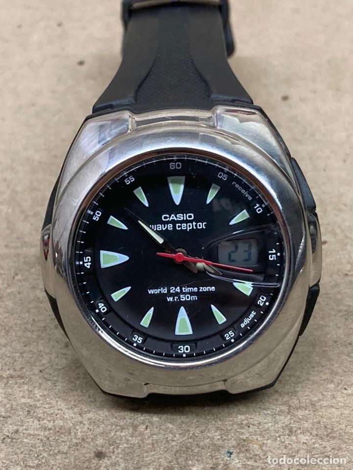 RELOJ CASIO WAVE CEPTOR WVQ-201 MODELO VINTAGE (Relojes - Relojes Actuales - Casio)
