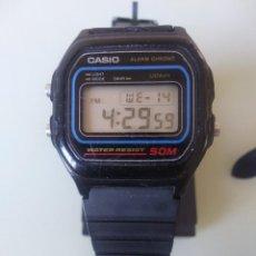 Relojes - Casio: RELOJ CASIO W-59 ASAMBLED IN COREA(EL DEL RECUADRO EN LA FECHA). Lote 254562000