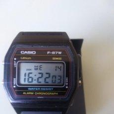 Relojes - Casio: RELOJ CASIO F-87 MADE IN JAPAN. Lote 254565120