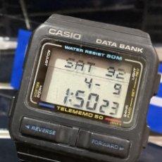 Relojes - Casio: RELOJ CASIO DB 54 ¡¡DATA BANK!! VINTAGE JAPAN AÑOS 80 (VER FOTOS). Lote 255438365