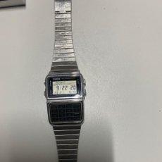 Relojes - Casio: RELOJ CASIO CALCULADORA (3,33 ENVÍO CERTIFICADO). Lote 255643170