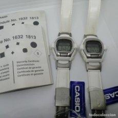 Relojes - Casio: LOTE 2X CASIO VINTAGE G-SHOCK GT-006 G-COOL 20 BAR WATCH NUEVO NOS. Lote 256040680