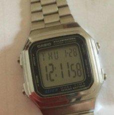 Relojes - Casio: RELOJ CASIO WR DUALTIME 3234 A 178W. RETRO. Lote 257476295