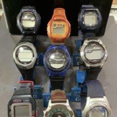 Relojes - Casio: ¡¡ 9 RELOJES CASIO VINTAGE ¡¡ LOTE G ¡¡ DEFECTUOSOS !! (VER FOTOS). Lote 257890490