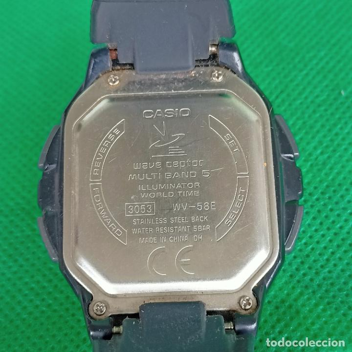 Relojes - Casio: Casio WV-58U WAVE CAPTOR MULTIBAND 5 (3053) WORLD TIME WR50M - Foto 2 - 258199020