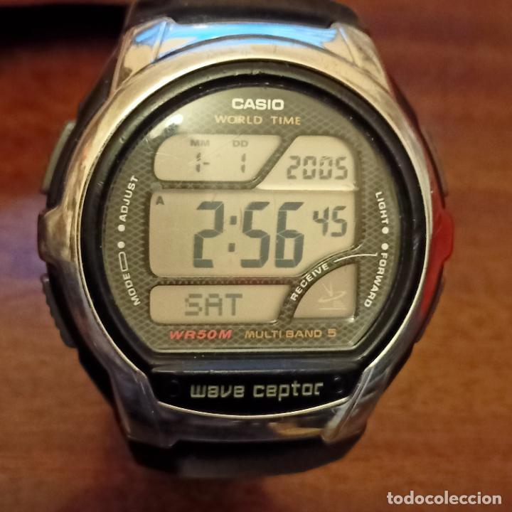 CASIO WV-58U WAVE CAPTOR MULTIBAND 5 (3053) WORLD TIME WR50M (Relojes - Relojes Actuales - Casio)