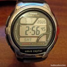Relojes - Casio: CASIO WV-58U WAVE CAPTOR MULTIBAND 5 (3053) WORLD TIME WR50M. Lote 258199020