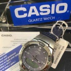 Relojes - Casio: RELOJ CASIO WVA 105 PIEL ¡¡ WAVE CEPTOR !! ¡¡NUEVO!! (VER FOTOS). Lote 260577890