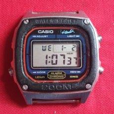 Relojes - Casio: RELOJ CASIO ADJUST ALARMA CHRONO FUNCIONA .MIDE 35.8 MM DIAMETRO. Lote 261267515