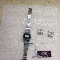 Relojes - Casio: RELOJ CASIO STAINLESS STEELERS. CON CAJA Y REPUESTO DE CORREA. Lote 261914770
