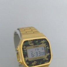 Relojes - Casio: RELOJ CASIO A-168 WE MODULO 3298. Lote 261928670