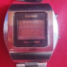 Relojes - Casio: RELOJ CASIO TRON (LIQUID CRISTAL)FUNCIONA .MIDE 39.4MM DIAMETRO. Lote 262563835