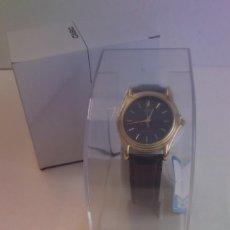 Relojes - Casio: MAGNIFICO RELOJ CASIO MTP1096 HOMBRE CRISTAL MINERAL PIEL ABSOLUTAMENTE NUEVO. Lote 262760895