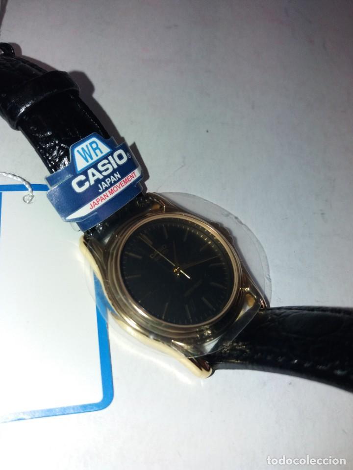 Relojes - Casio: MAGNIFICO RELOJ CASIO MTP1096 HOMBRE CRISTAL MINERAL PIEL ABSOLUTAMENTE NUEVO - Foto 11 - 262760895
