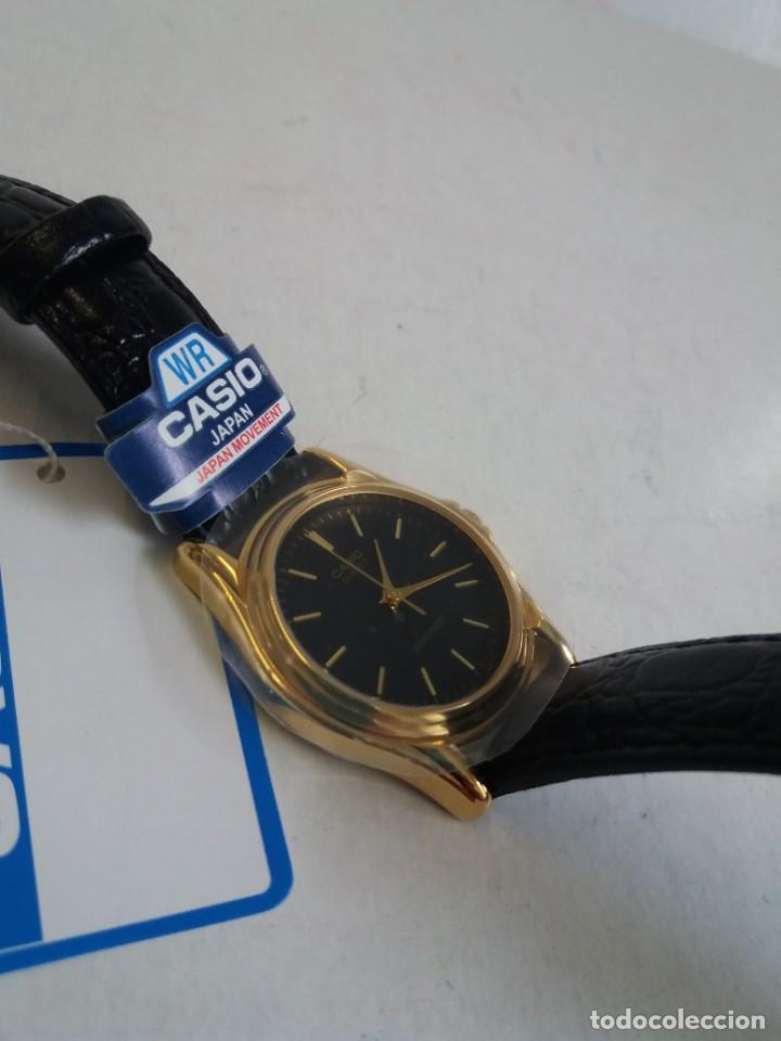 Relojes - Casio: MAGNIFICO RELOJ CASIO MTP1096 HOMBRE CRISTAL MINERAL PIEL ABSOLUTAMENTE NUEVO - Foto 12 - 262760895