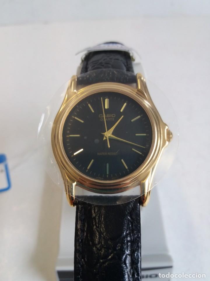 Relojes - Casio: MAGNIFICO RELOJ CASIO MTP1096 HOMBRE CRISTAL MINERAL PIEL ABSOLUTAMENTE NUEVO - Foto 14 - 262760895