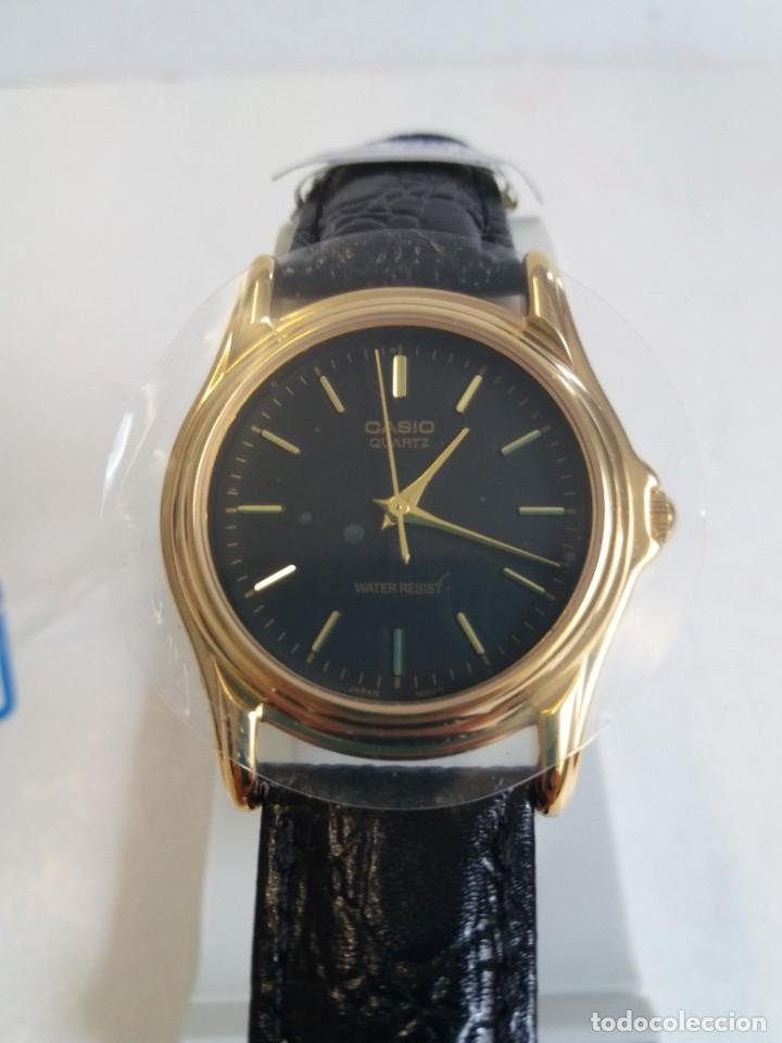 Relojes - Casio: MAGNIFICO RELOJ CASIO MTP1096 HOMBRE CRISTAL MINERAL PIEL ABSOLUTAMENTE NUEVO - Foto 15 - 262760895