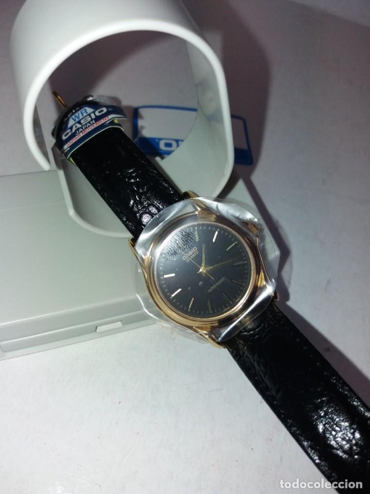 Relojes - Casio: MAGNIFICO RELOJ CASIO MTP1096 HOMBRE CRISTAL MINERAL PIEL ABSOLUTAMENTE NUEVO - Foto 18 - 262760895