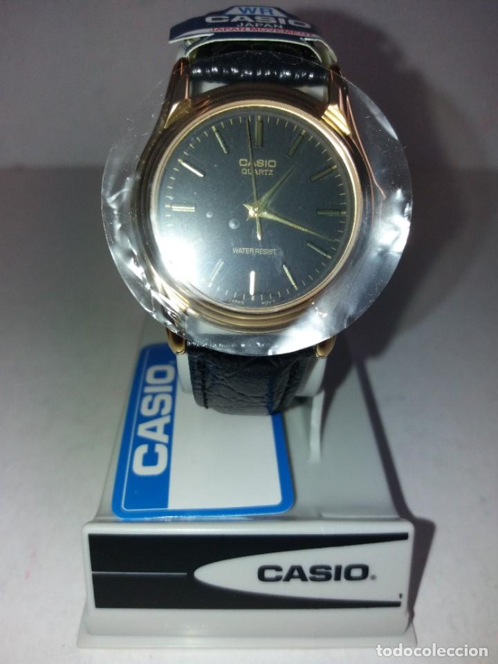 Relojes - Casio: MAGNIFICO RELOJ CASIO MTP1096 HOMBRE CRISTAL MINERAL PIEL ABSOLUTAMENTE NUEVO - Foto 19 - 262760895