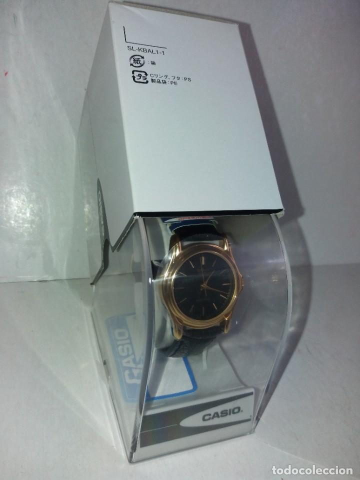 Relojes - Casio: MAGNIFICO RELOJ CASIO MTP1096 HOMBRE CRISTAL MINERAL PIEL ABSOLUTAMENTE NUEVO - Foto 20 - 262760895