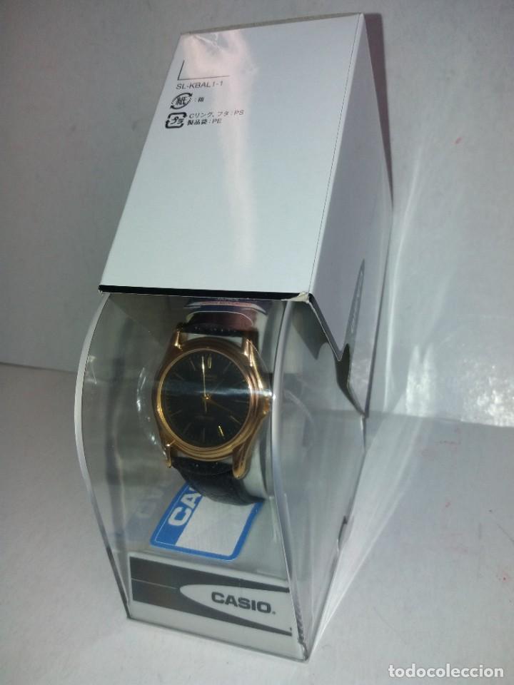 Relojes - Casio: MAGNIFICO RELOJ CASIO MTP1096 HOMBRE CRISTAL MINERAL PIEL ABSOLUTAMENTE NUEVO - Foto 21 - 262760895