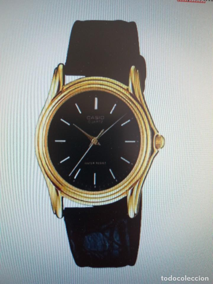 Relojes - Casio: MAGNIFICO RELOJ CASIO MTP1096 HOMBRE CRISTAL MINERAL PIEL ABSOLUTAMENTE NUEVO - Foto 22 - 262760895