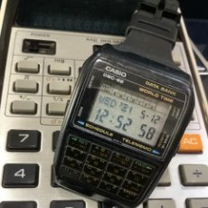 Relojes - Casio: RELOJ CASIO DBC 62 ¡¡DATA BANK CALULADORA!! VINTAGE AÑOS 80 !! (VER FOTOS). Lote 263204445