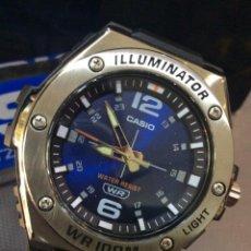 Relojes - Casio: RELOJ CASIO MWA 100 BLUE ¡¡ ILUMINATOR!! ¡¡NUEVO!! (VER FOTOS). Lote 264252464
