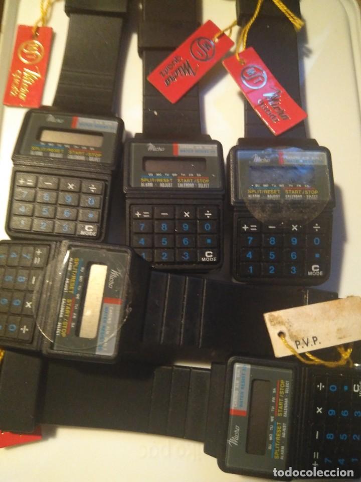 Relojes - Casio: PERFECTO reloj calculadora de 1986 vintage NEW OLD STOCK - Foto 3 - 234045100