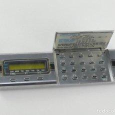 Relógios Casio: PRIMER RELOJ CALCULADORA MINI HORIZONTAL - CASIO MQ-1 JAPÓN AÑO 1977. Lote 265685304