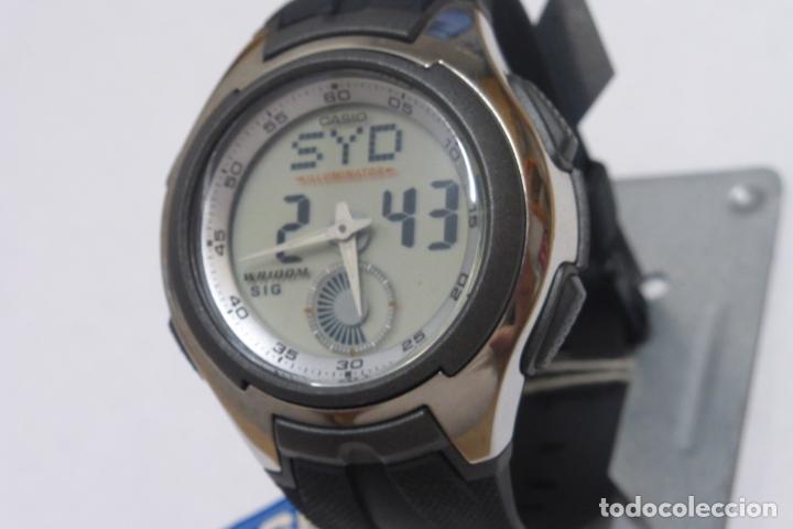 CASIO 3319 AQ-160. FUNCIONANDO (Relojes - Relojes Actuales - Casio)