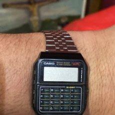 Relojes - Casio: RELOJ CALCULADORA CASIO 481 CA-62 BOTONES COLECCIONABLE. Lote 266337988