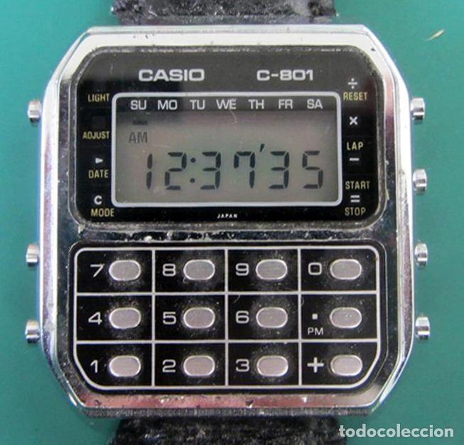CASIO C-801 (Relojes - Relojes Actuales - Casio)
