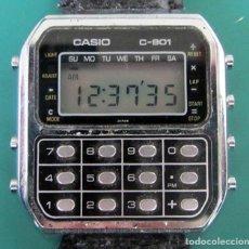 Relógios Casio: CASIO C-801. Lote 266916724
