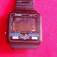 Orologi - Casio: RELOJ CASIO GD-2 DUPER SLALOMER CUARZO NO FUNCIONA.MIDE 33.7 MM. Lote 268608249
