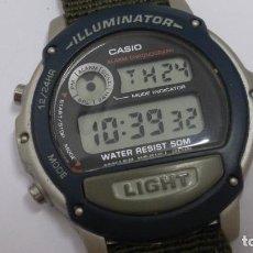 Relojes - Casio: CASIO 1536 W-89H. FUNCIONANDO. Lote 271548368