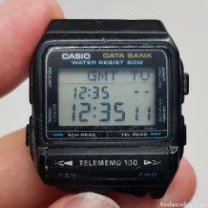 Relojes - Casio: RARO RELOJ CASIO DATA BANK TELEMEMORY 100 DBX-101 W MADE IN JAPAN. Lote 271679603