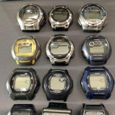 Relojes - Casio: ¡¡ 12 RELOJES CASIO VINTAGE ¡¡ LOTE H ¡¡ DEFECTUOSOS !! (VER FOTOS). Lote 274635728